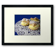 Homemade Dessert Framed Print