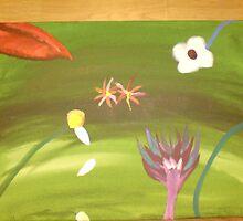 random flowers by kristie-jade knowles