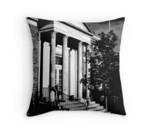 Post Office McMinnville Tennessee Throw Pillow
