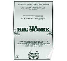 The Big Score - GTA V Poster