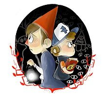 Dipper & Wirt by wirtless