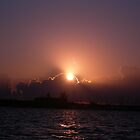 sunrise on Biscayne Bay 2 by nancy dixon