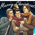 A Team Free Will Christmas by angicita