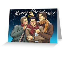 A Team Free Will Christmas Greeting Card