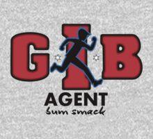 Zac Power - Agent Bum Smack Kids Tee