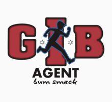 Zac Power - Agent Bum Smack One Piece - Short Sleeve