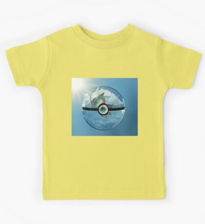 Rayquaza Pokeball Kids Tee
