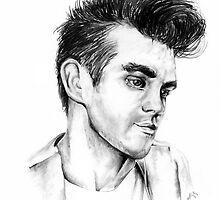 Morrissey Portrait by Florensbur