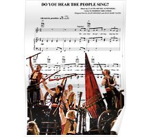 Do You Hear the People Sing - Les Miserables Poster
