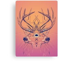 Dutch Deer Canvas Print
