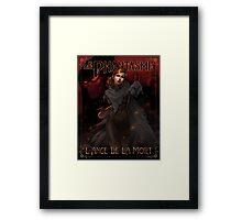 Le Phantasme -- L'Ange de la Mort Framed Print