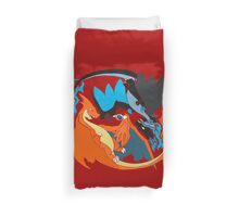 Tribalish Mega Charizard Y (and X) Duvet Cover