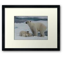 Hey Mum! Framed Print