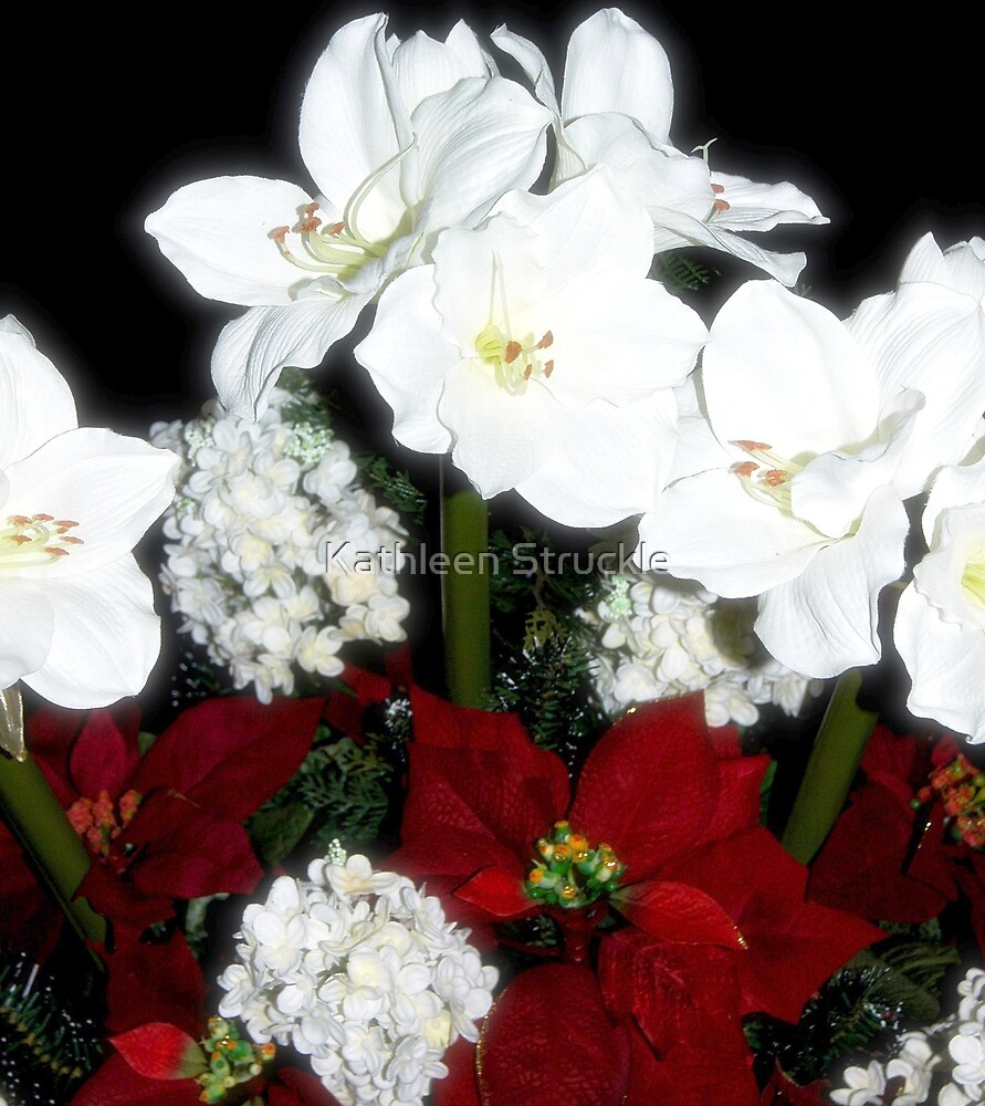 Holiday Floral by Kathleen Struckle