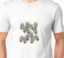 Stink Bugs Galore..Beautifully Bedazzled Bugs Unisex T-Shirt