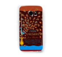Paisley Peacock Pride and Prejudice: Fall Modern Samsung Galaxy Case/Skin