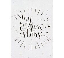 My Sun and Stars Photographic Print