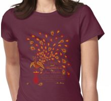 Paisley Peacock Pride and Prejudice: Fall Womens Fitted T-Shirt