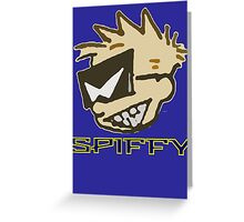 Spiffy Greeting Card