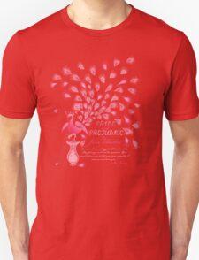 Paisley Peacock Pride and Prejudice: Girly T-Shirt