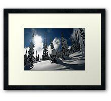 Marshmallow Morning Framed Print