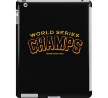 World Series Champs  iPad Case/Skin
