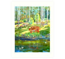 Tamborine Mountain Botanical Gardens ,Early Spring Art Print