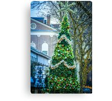First Night in Boston -3 Canvas Print