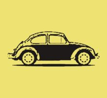VW 1961 Beetle - Black Kids Clothes