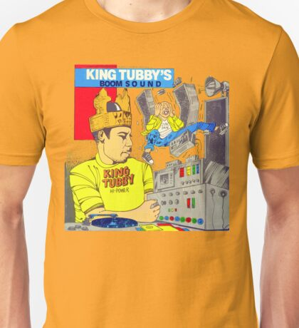 King Tubby's BOOM SOUND ... Hi-Power Unisex T-Shirt