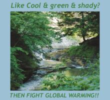 Cool, Green & Shady by RLHall