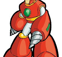 Mega Man 2 Robot Master - Crash Man by 57MEDIA