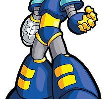 Mega Man 2 Robot Master - Flash Man by 57MEDIA