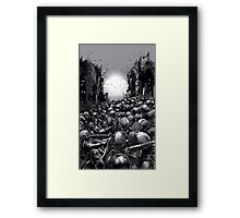 Chaos infected Framed Print