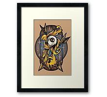 Filigree Eye  Framed Print