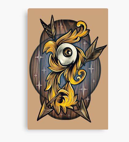 Filigree Eye  Canvas Print