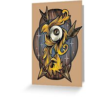 Filigree Eye  Greeting Card