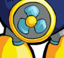 Mega Man 2 Robot Master - Air Man Sticker