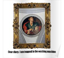Dear diary: I am trapped in the washing machine Poster