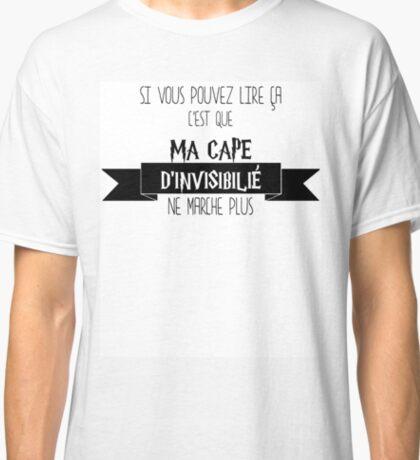 Cape d'invisibilité Classic T-Shirt