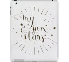 Game of Thrones . My Sun and Stars iPad Case/Skin