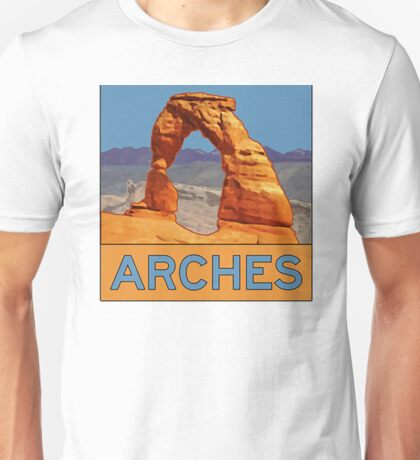 Arches National Park Grand County Utah Travel Explore Earth Unisex T-Shirt