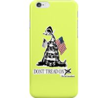 Gadsden Flag Re-Revisited iPhone Case/Skin