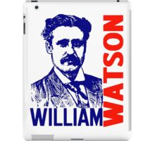 William Watson iPad Case/Skin
