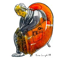 Interpretation #64 - Old men's seat by Ignacio Marino Larrique