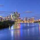 Brisbane City - HDR by Steve Grunberger