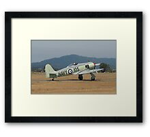 RAN Sea Fury Framed Print