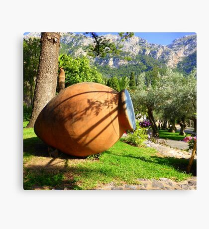 The Terracotta Pot..............................Mallorca Canvas Print