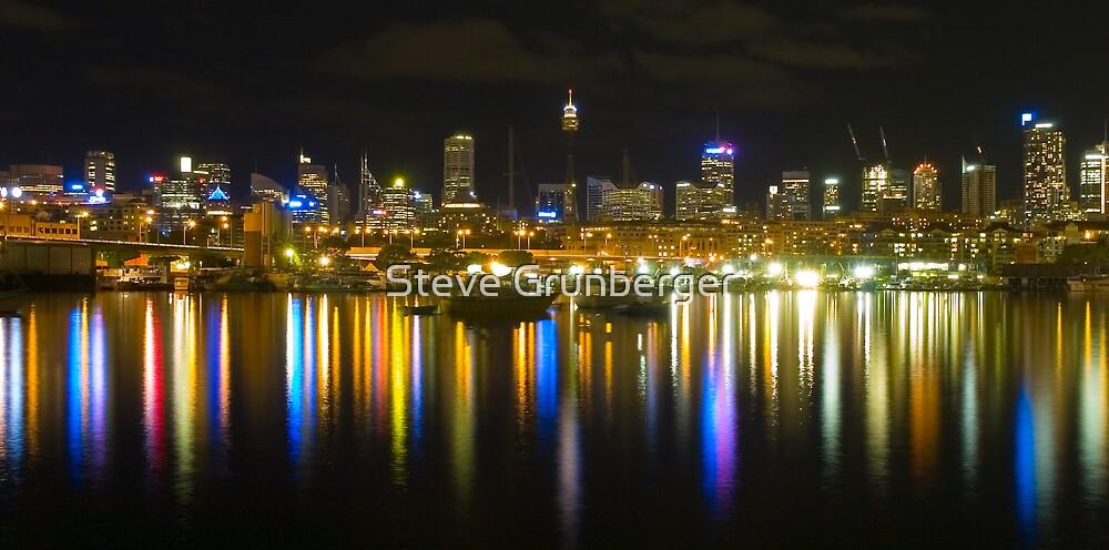 Sydney City taken from Glebe by Steve Grunberger