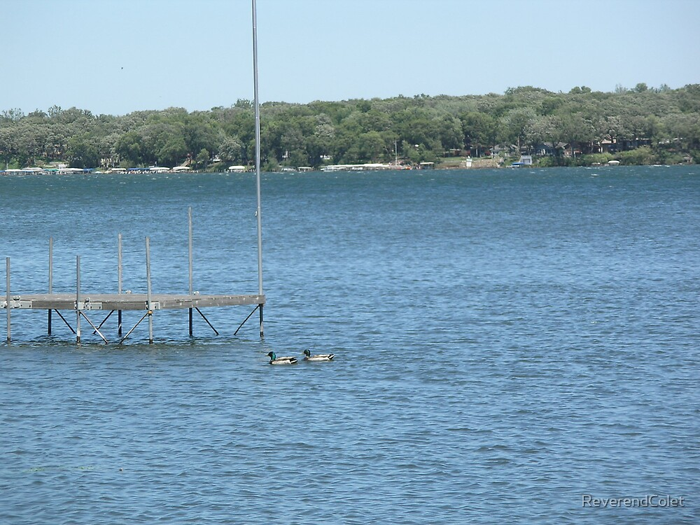 Lake Okoboji by ReverendColet